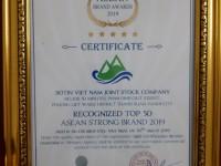 SOTIN LỌT TOP 50 THƯƠNG HIỆU MẠNH ASEAN 2019