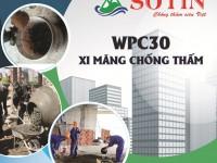 Bài 1: Giới thiệu về WPC30 - Xi măng chống thấm
